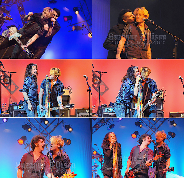 . 25.01.14 : Johnny au National Association of Music Merchants à Anaheim en CalifornieIl a notamment accompagné Steven Tyler, Marilyn Manson, Alice Cooper et Bruce Witkin à la guitare. .