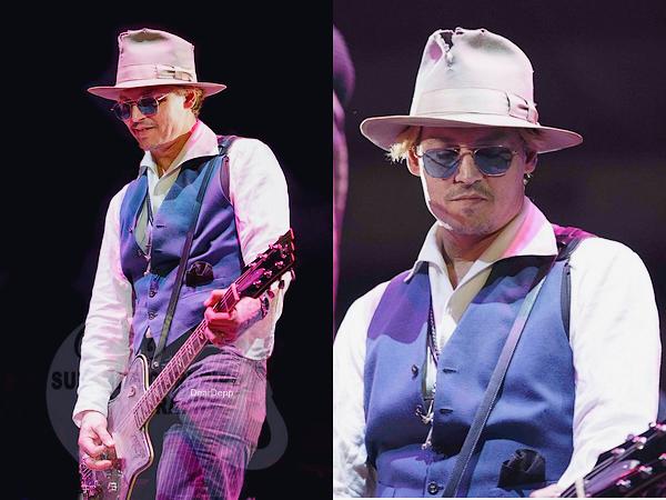 . 09.03.14 : Johnny et Amber étaient à Austin pour le Festival Rodeo.