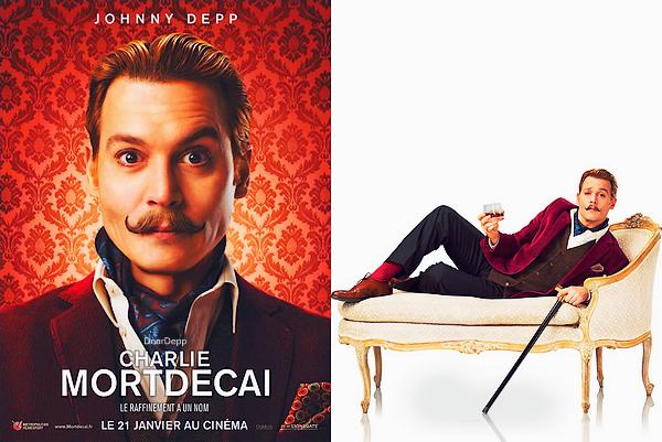. Charlie Mortdecai : Les NouvellesAvalanche de Posters pour le film sorti le Mercredi 21 Janvier 2015. .