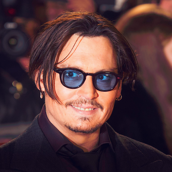 . 19.01.15 : Johnny était à Londres pour la promotion de Charlie Mortdecai.