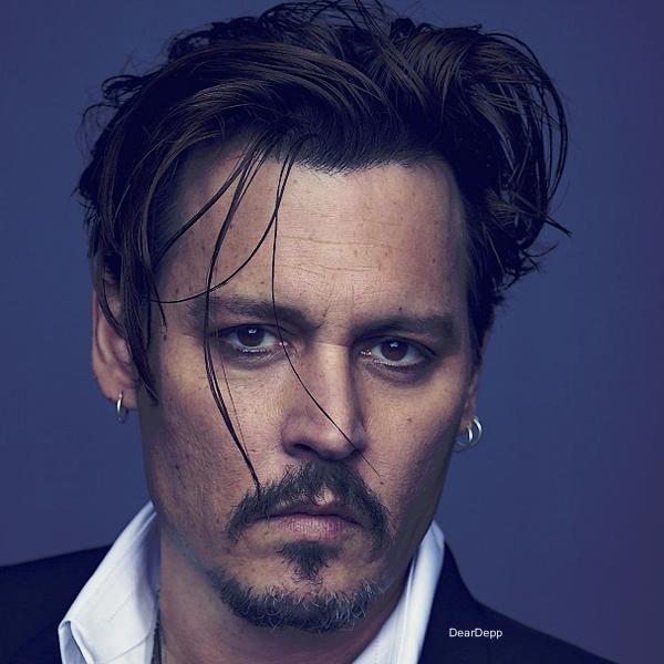 . Johnny Depp, égérie du nouveau parfum Dior.