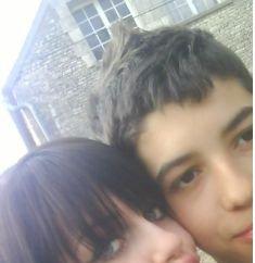 moi et  mon cher  cousin