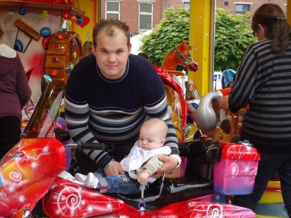 moi et mon fils que jaime plus que touts au monde il avait quelque moi