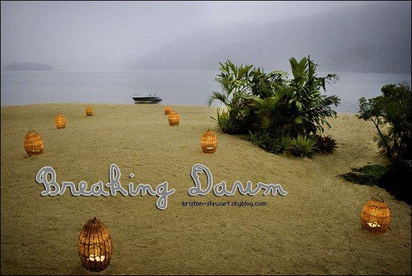 Un nouveau still de Breaking Dawn ; l'île d'Esmée est apparue.