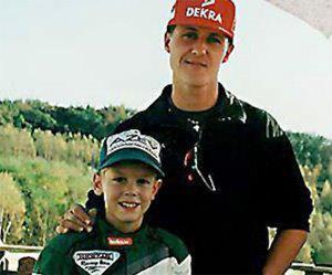 Michael Schumacher et Sebastian Vettel