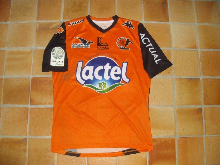 Maillot porté par Anthony GONCALVES avec le Stade Lavallois