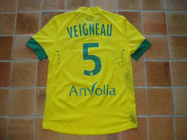 Maillot porté par Olivier VEIGNEAU avec le FC NANTES