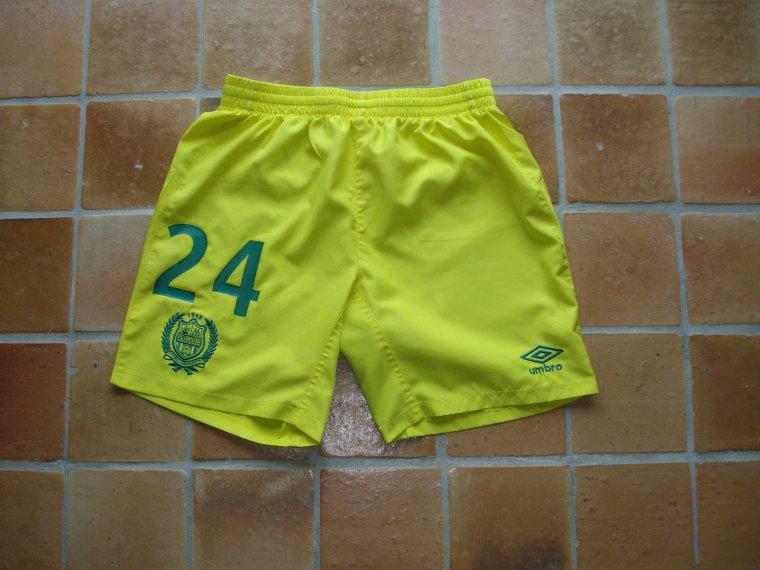 Shorts portés par Alphonse AREOLA et Chaker ALHADHUR