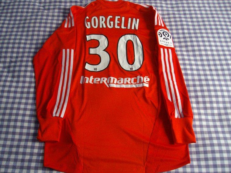 maillot entrainement OL Mathieu GORGELIN