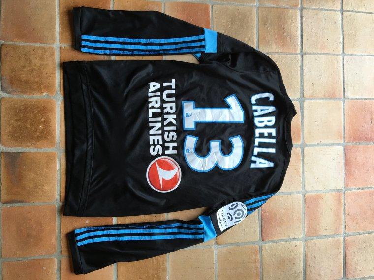 Maillot de Rémy Cabella porté avec l'Olympique de Marseille