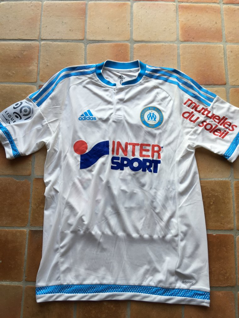 Maillot de Lassana Diarra porté avec l'Olympique de Marseille