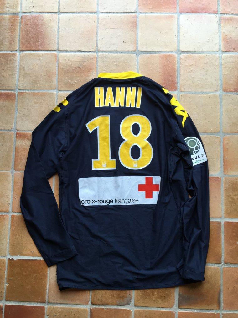 Maillot porté par Sofiane Hanni avec le FC Nantes