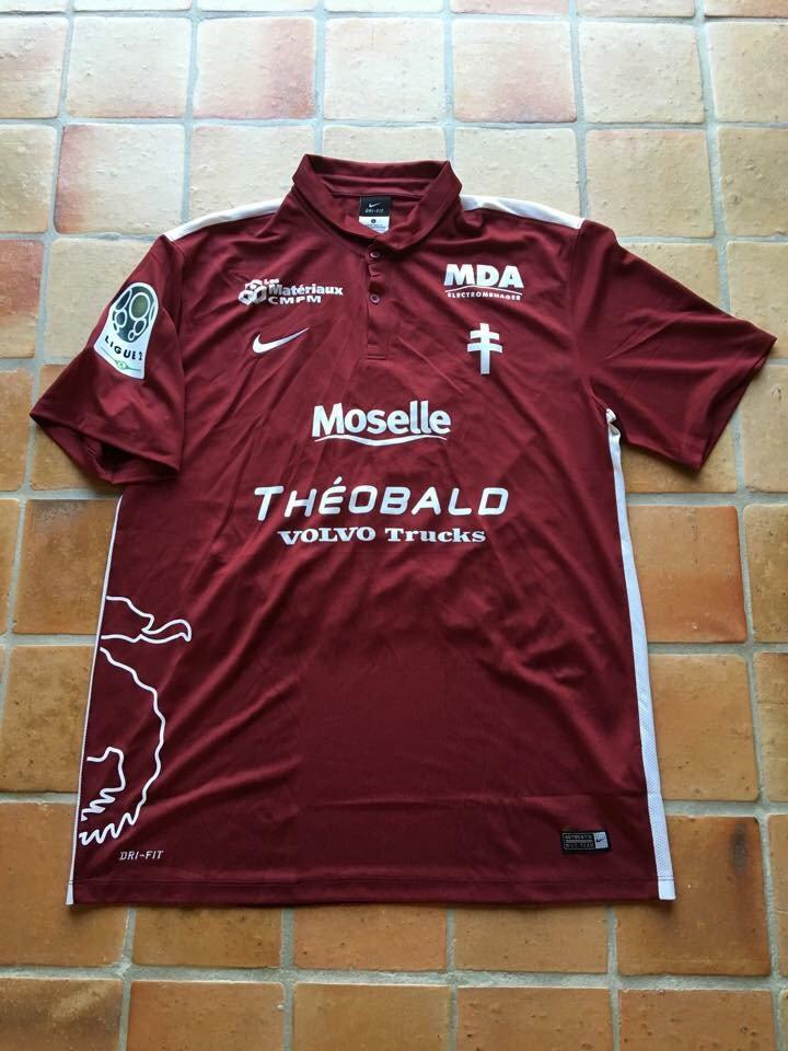 Maillot porté par Ferjani Sassi avec le FC Metz