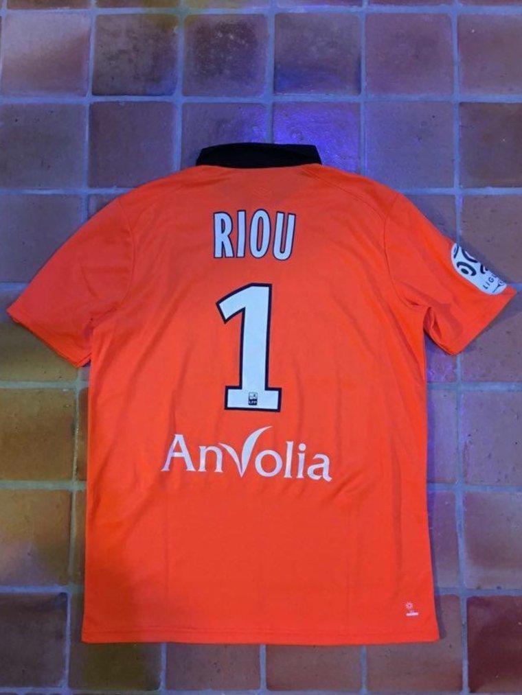 Maillot porté par Rémy Riou avec le FC Nantes