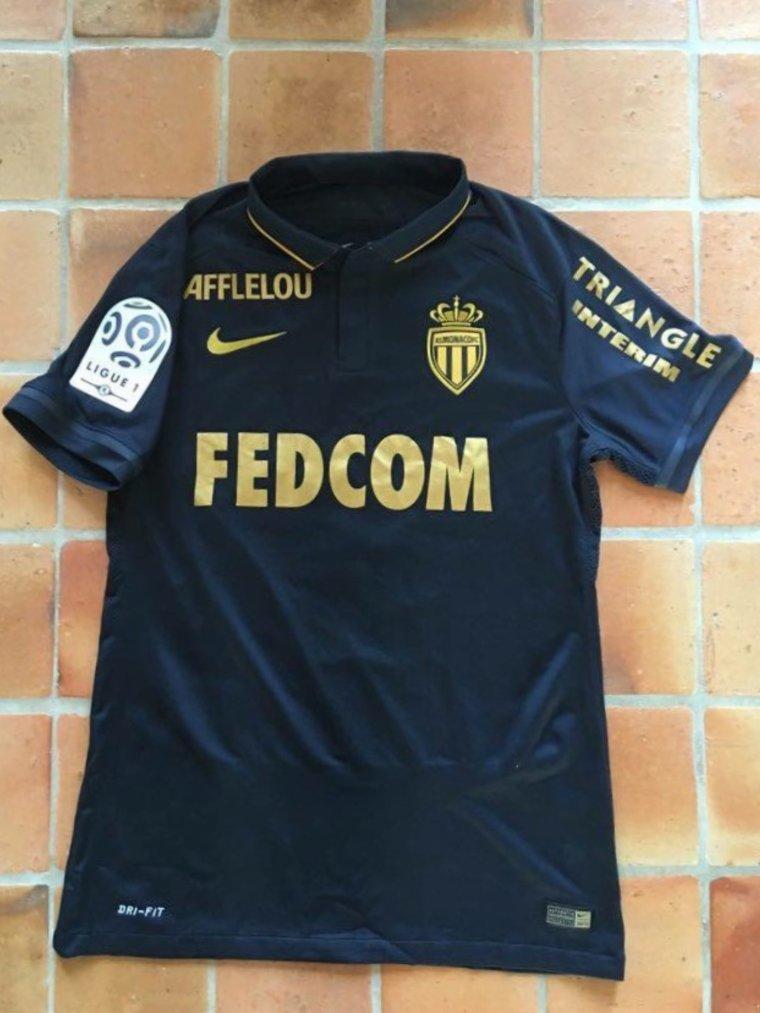 Maillot porté par Fabio Coentrao avec Monaco