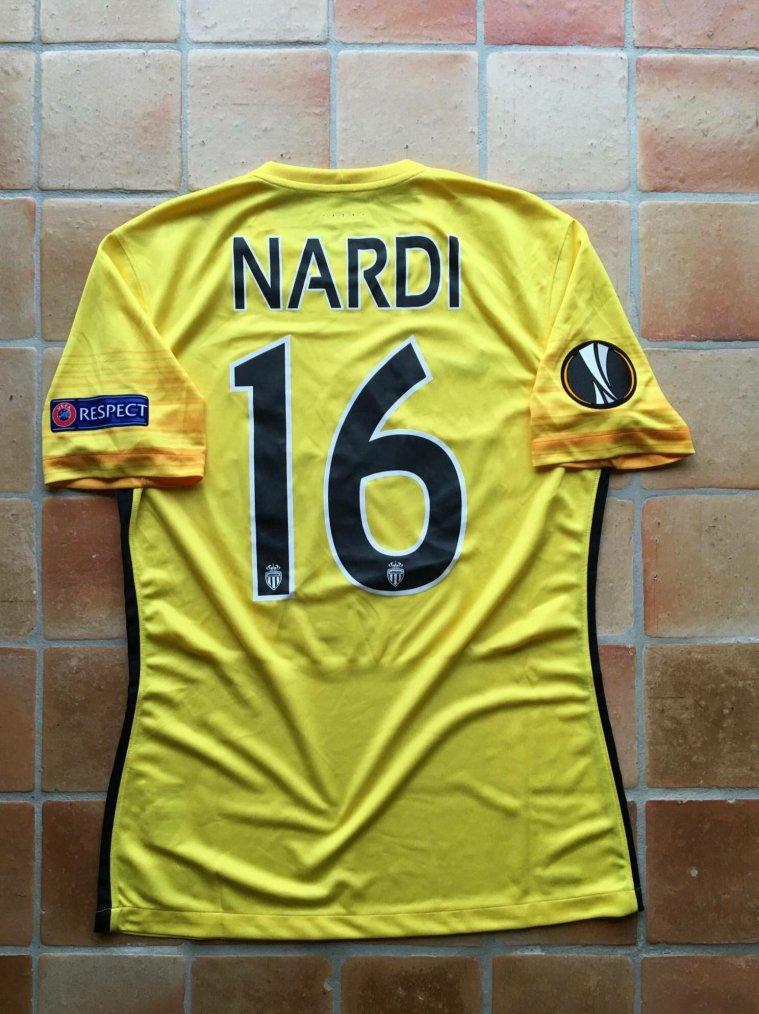 Maillot porté par Paul Nardi avec Monaco