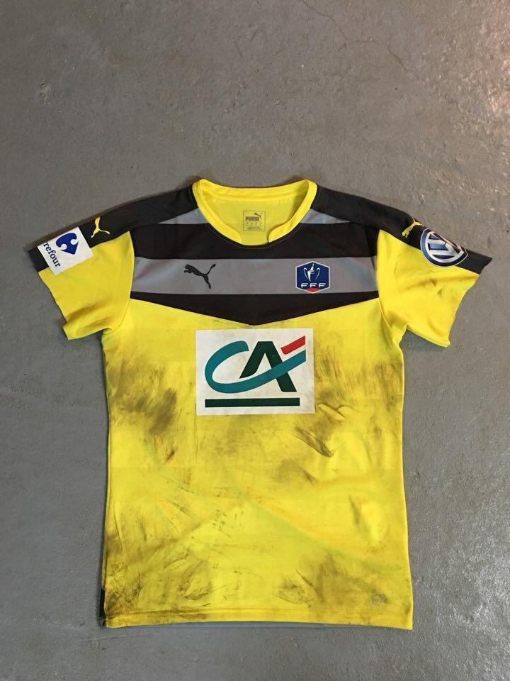 maillot de Jérôme Prior porté avec Bordeaux