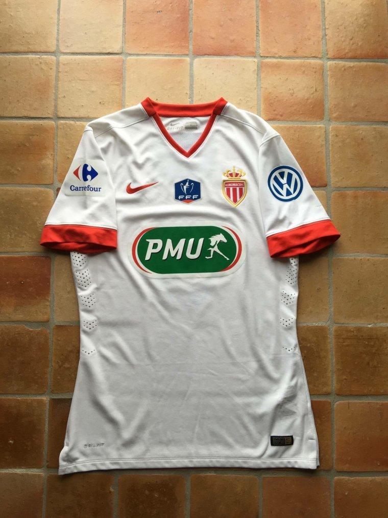Maillot porté par Ricardo Carvalho avec Monaco