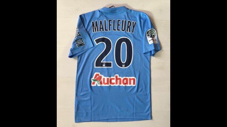 Maillot porté par Geoffrey Malfleury avec Tours