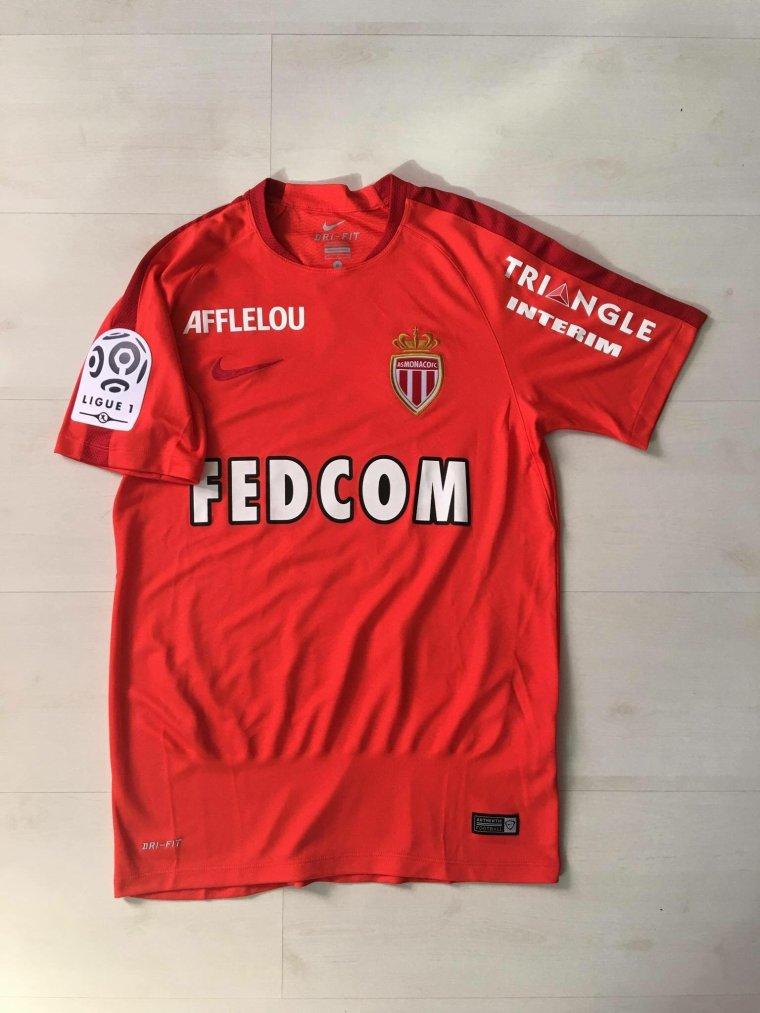 Maillot porté par Joao Moutinho avec Monaco