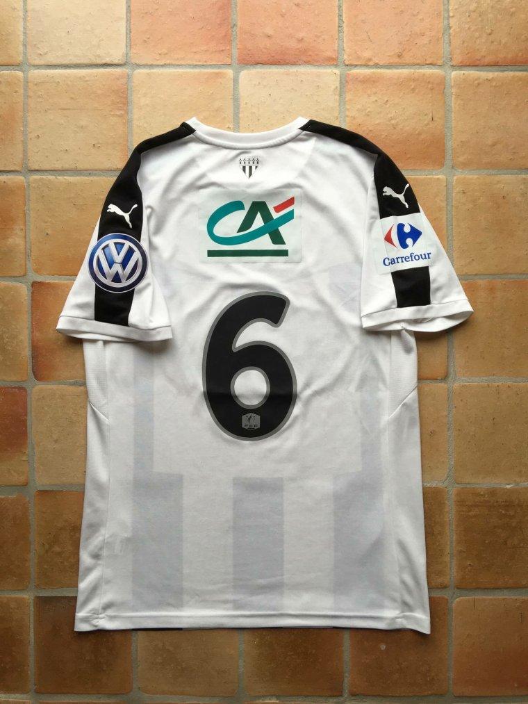 Maillot porté par Gelson Fernandes avec Rennes