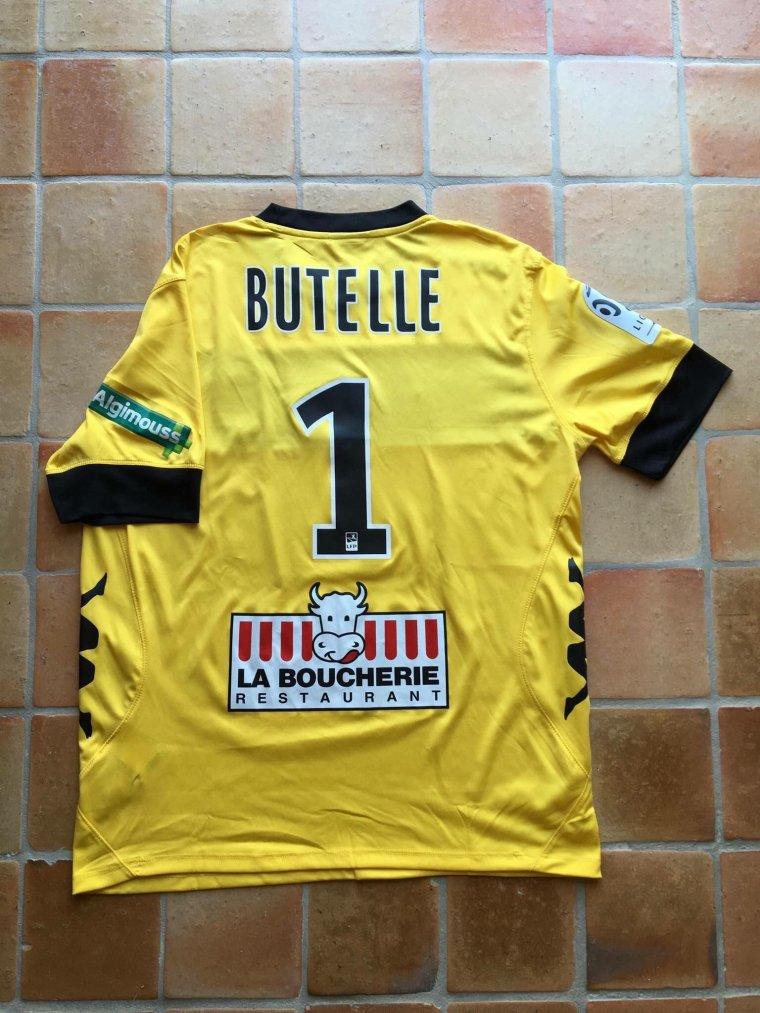 Maillot préparé pour Ludovic Butelle avec Angers