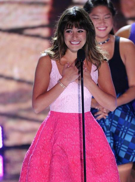 Discours de Lea Michele Teen Choice Award