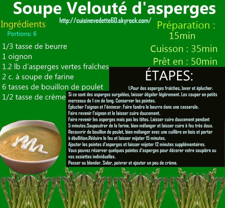Soupe aux asperges