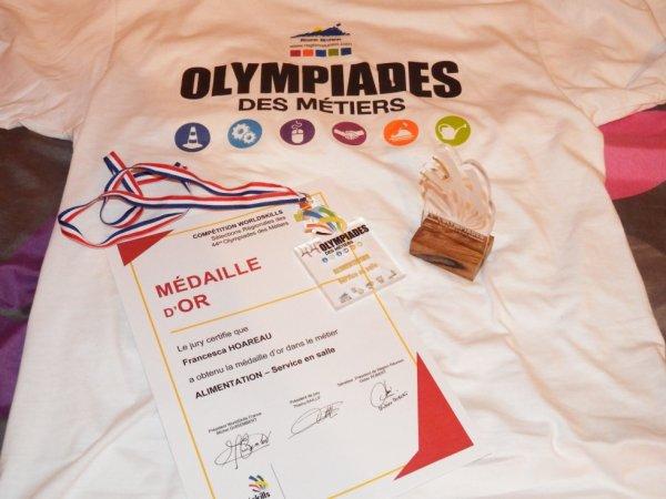 44éme Olympiades des métiers