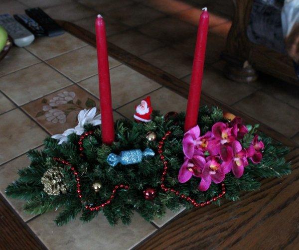 Centre de table Noël