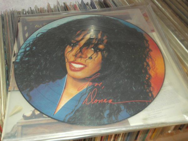 DONNA SUMMER rare picture disc  1982