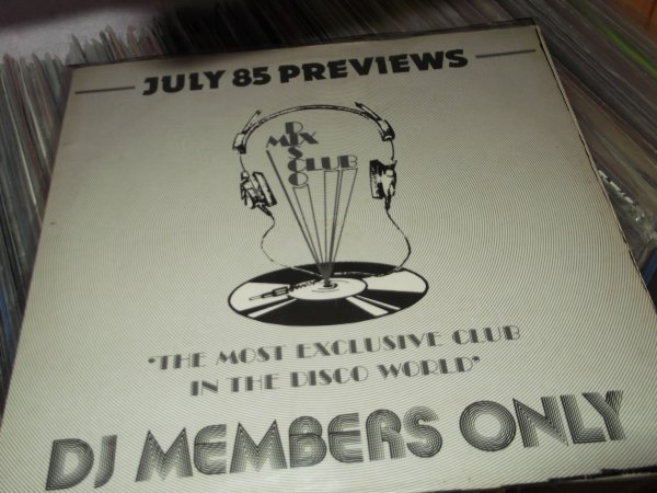 DMC ( disco mix club )  juillet 1985 previews  .