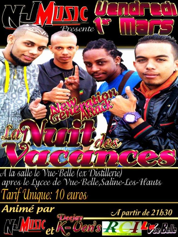 LE RDV VACANCE avec NJ MUSIC