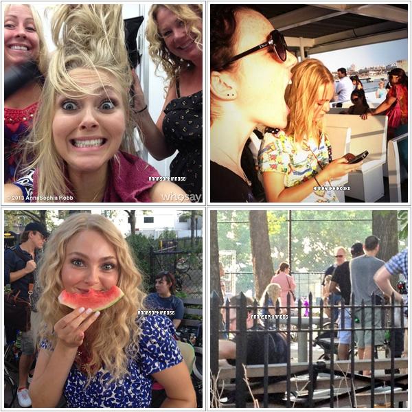 Découvrez les premières photos du tournage de la saison 2 de The Carrie Diaries !