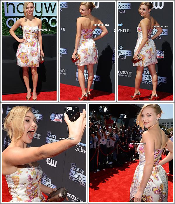 . 1er août 2013  : AnnaSophia était présente aux Young Hollywood Awards 2013 à Santa Monica. .