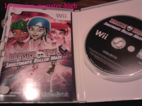 Les jeu monster high sur Wii
