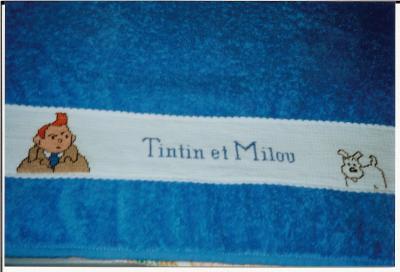 Serviette De Plage Tintin.Serviette Tintin Et Milou Bienvenue Chez Isabrod88