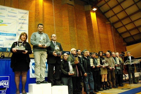 podium complet championnat national jeunes