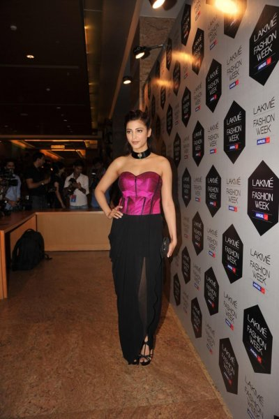 Shruti Haasan @ Lakme Fashion Week 2012