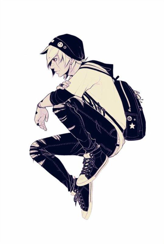 Personnage de RP → Alec Rey
