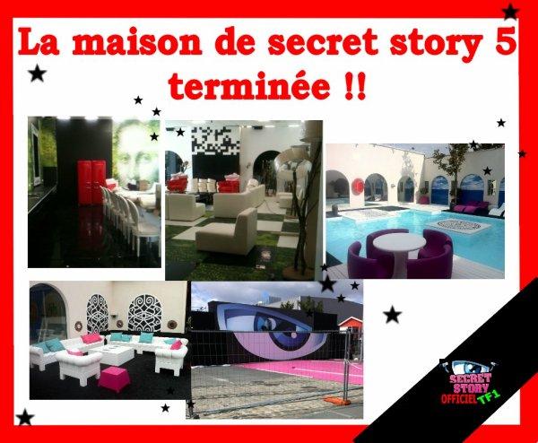 La maison des secrets de secret story 5 terminée !!
