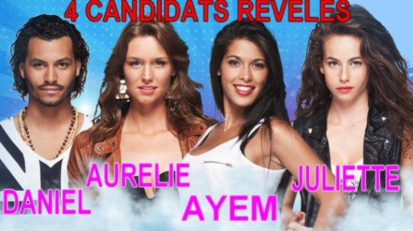 4 CANDIDATS REVELES !!