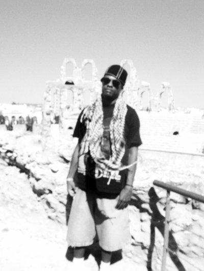 Pose en Tunisie...