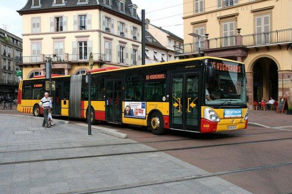 bus de mulhouse ligne 15 irisbus citelis 18 n648 blog de guima6868. Black Bedroom Furniture Sets. Home Design Ideas