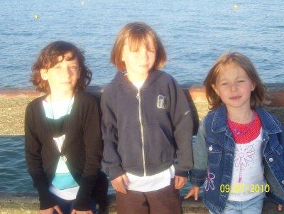 nos trois plus belles princesses..on a trop assuré comme mamans ;-)