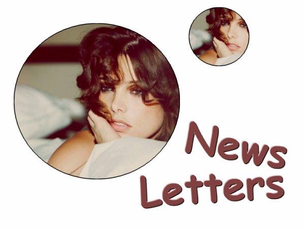 Suivez les news grace a ma news letters: