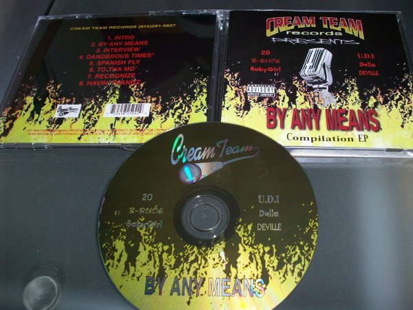 Cream Team Records presents By Any Means : Compilation EP