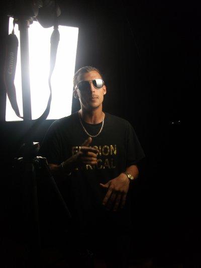 Lors Du tournage du Clip