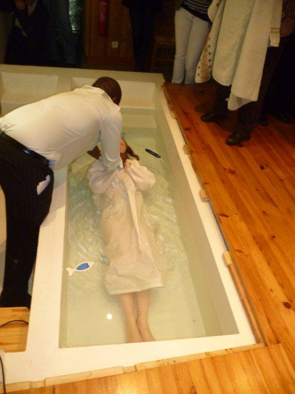 BAPTEME DE LINDSAY