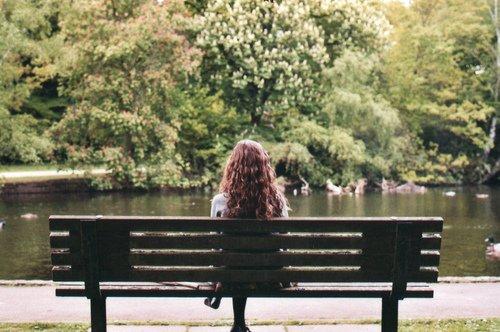 The effect in a profound solitude